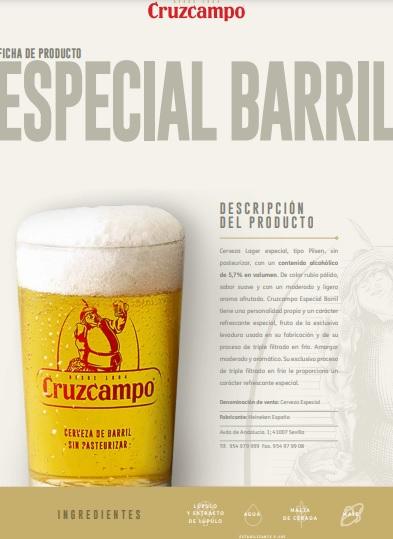 especial barril